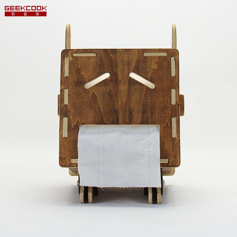 黑橡木+纸巾盒