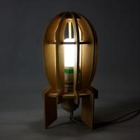 DIY炸弹台灯
