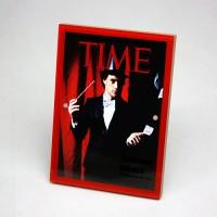 《时代》杂志封面相框