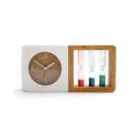 创意座钟:三色沙漏闹钟
