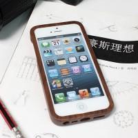 分离式黑胡桃iPhone5/5S木质保护套