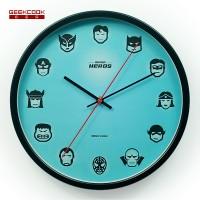 金属挂钟:超级英雄联盟