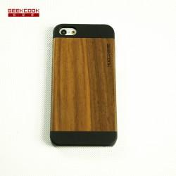 iPhone5/5S一体式黑胡桃PC壳