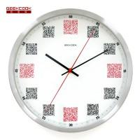 金属挂钟:扫码时间