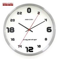 金属艺术挂钟:24小时