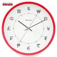金属挂钟:时间金钱