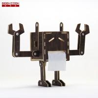 Mr.囧 DIY 囧机器人纸巾盒-创意产品批发
