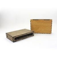 GeekCook浩峰2号DIY木质路由器猫盒子wifi 收纳收藏盒LOGO可定制