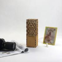 GeekCook极客库DIY吟唱者木质创意台灯台灯 小夜灯 创意礼品